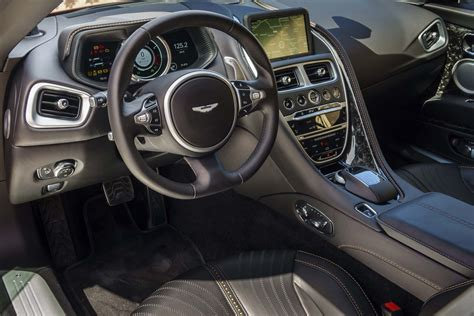 aston martin sedan interior aston martin db11 spied with mercedes benz interior components