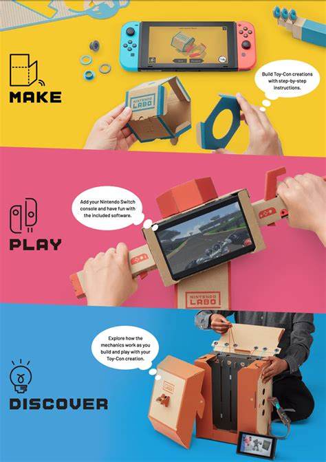 Harga Nintendo Labo by Nintendo Akan Rilis Nintendo Labo Aksesoris Diy Nintendo