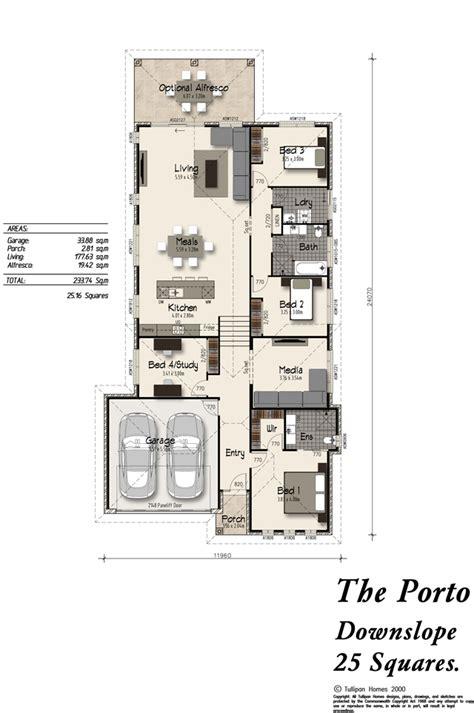 downslope house designs porto downslope alfresco included home design tullipan homes