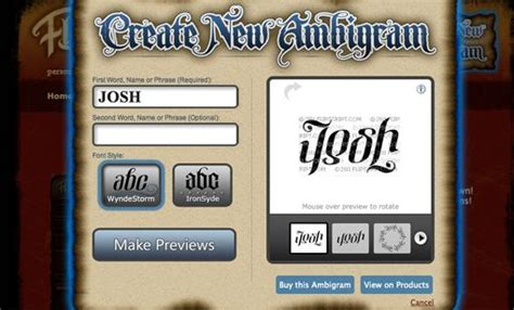 tattoo name generator upside down design an ambigram logo with your name design shack