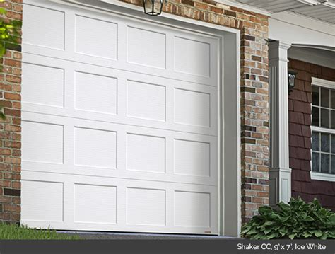 shaker cc design from garaga garage doors