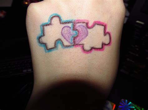 puzzle tattoos for couples puzzle tattoos for couples puzzle pieces of you