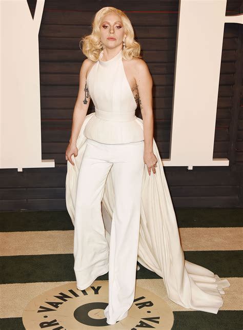 Vanity Gaga by Gaga 2016 Vanity Fair Oscar In Beverly Ca