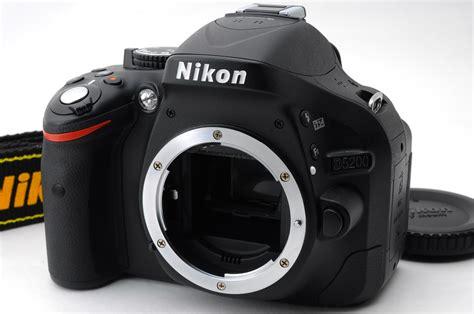 Cek Kamera Nikon D5200 nikon d5200 24 1 mp digital shutter count 1 025 nearmint ni 304 ebay