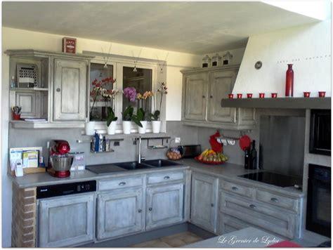 cuisine patin馥 relooking d une cuisine rustique patine esprit indus