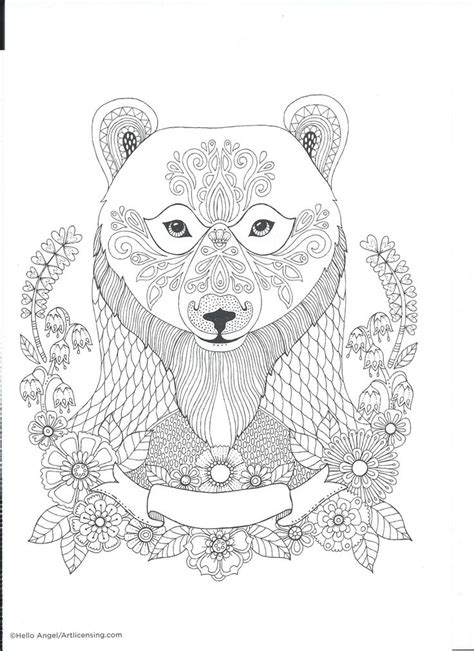 bear mandala coloring pages 85 80 coloring pages of wetland animals coloring pages