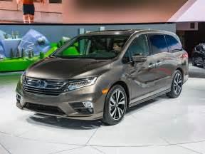 Honda Odyssey 2018 Honda Odyssey Revealed Kelley Blue Book