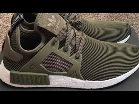 Ads Nmd Xr1 Olive Green adidas nmd xr1 prime knit olive green shoes review