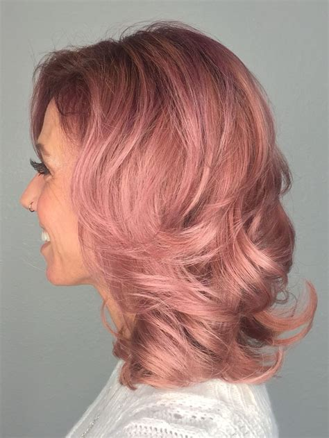 diy rose gold hair for brunettes hair color ideas for brunettes 1000 ideas about rose