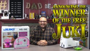 Sewing Machine Giveaway 2014 - dad sews contests archives dad sews
