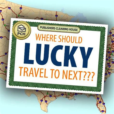where should lucky the pch big check travel to next pch blog - Pch Blog August 2015
