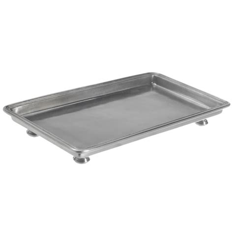 Bathroom Towel Tray by Match Pewter Footed Guest Towel Tray 9 7 Inches X 5 3