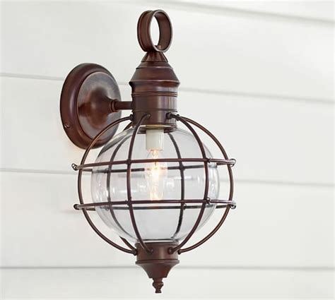 Fisherman Wall Sconce by Back Deck Fisherman S Indoor Outdoor Sconce Pottery