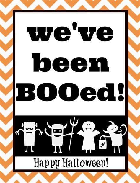free printable you ve been booed sign you ve been booed mason jar gift free printables the