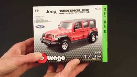bburago jeep wrangler unlimited rubicon  kit review