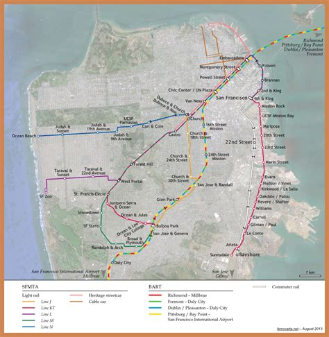 map of the united states san francisco railway maps of the united states san francisco