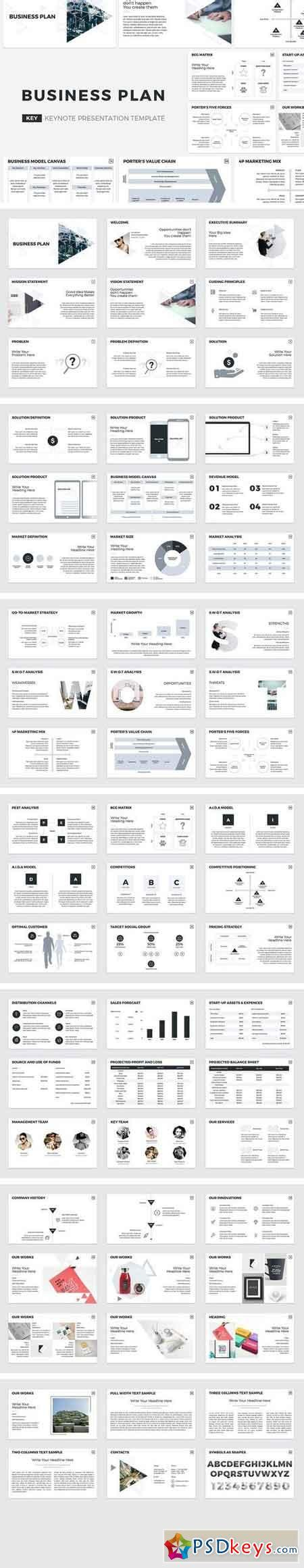 template business plan keynote template 187 free download photoshop vector stock image via