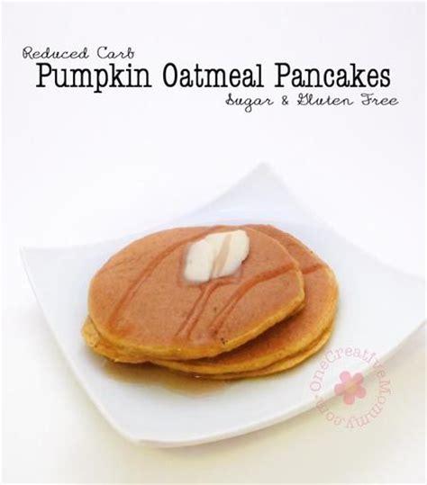 pumpkin oatmeal pancakes sugar and gluten free powder
