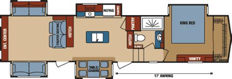 durango 5th wheel floor plans durango gold fulltime luxury fifth wheel floorplans