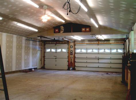 garage interior walls the hull boating and fishing