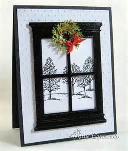 Wreaths In Windows Inspiration Wreath Window Card House Interior Designs