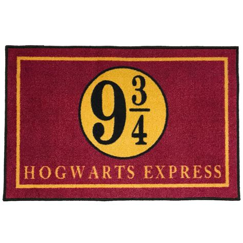 Funny Welcome Mats by Platform 9 3 4 Hogwarts Express Welcome Doormat 2 X 3