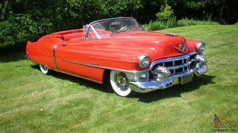 1953 Cadillac Convertible by 1953 Cadillac Eldorado Convertible For Sale 1953 Cadillac