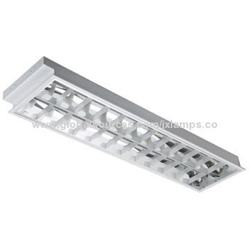 2*36w recessed luminaries with t8 fluorescent lamp and