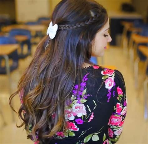 and easy hairstyles for school bethany mota bethany mota back to school 5 hairstyle ideas