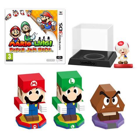 Mario Bedroom Mario Amp Luigi Paper Jam Bros Toad Amiibo Pack