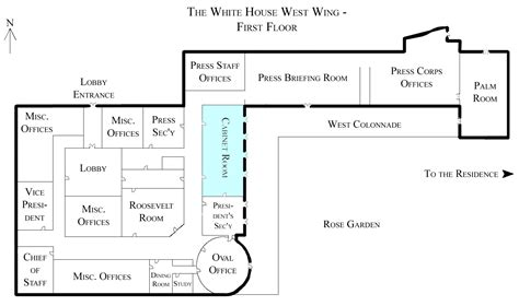 clue mansion floor plan file white house west wing 1st floor with cabinet room