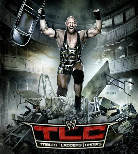 Steelers Chairs by Wwe Tlc 2012 Poster Ft Ryback