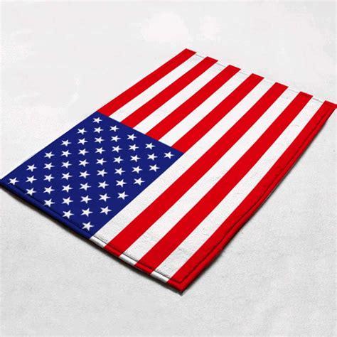 flag rug us mat
