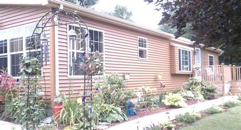 Landscaping Ideas Manufactured Homes Total Wide Manufactured Home Remodel
