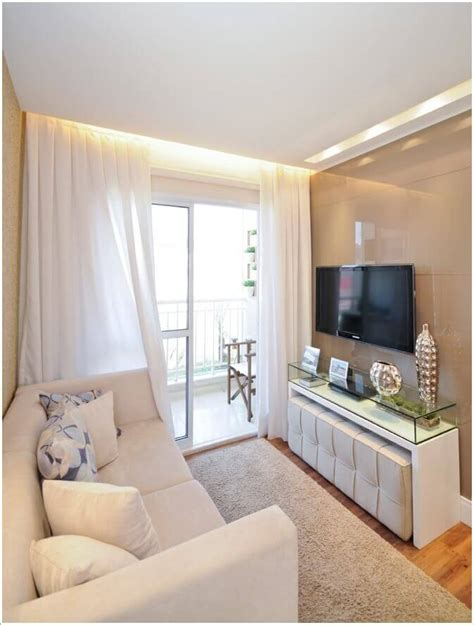 decorating small living room spaces salas pequenas 41 fotos de salas decoradas arquidicas