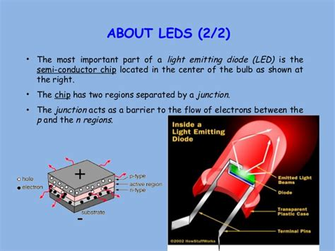 led diodes ppt analog electronics ppt on photo diodes and led by being topper