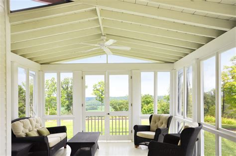 Porch ceiling ideas porch farmhouse with natural lighting white ceiling fan themonumentview net