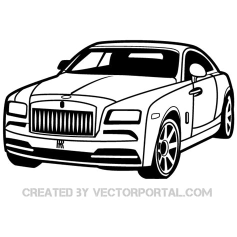 rolls royce logo drawing rolls royce car clip image free vectors