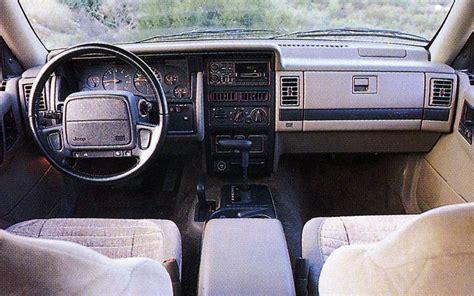 1993 jeep grand cherokee car interior design 1993 jeep grand cherokee laredo first test truck trend