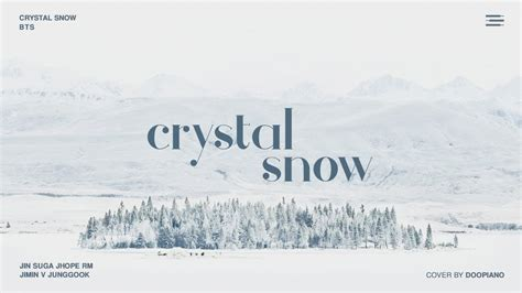 download mp3 bts crystal snow bts 방탄소년단 crystal snow piano cover chords chordify