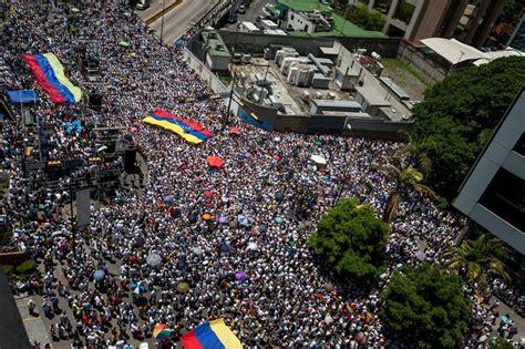 imagenes de protestas en venezuela hoy oposici 243 n venezolana marcha en las calles por la