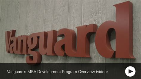 Vanguard Mba Development Program by Mba Vanguard Career Site