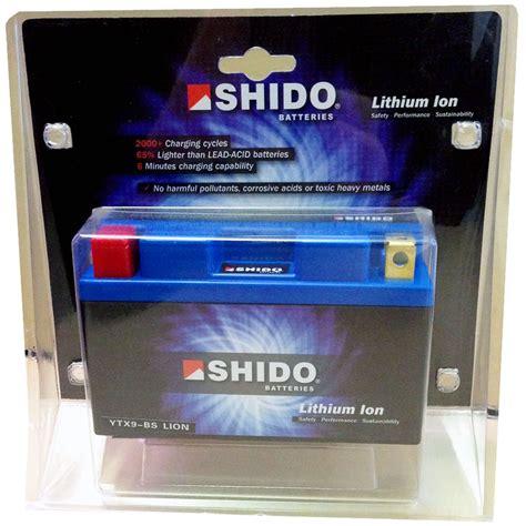 Lithium Ionen Akku Für Motorrad by Shido Ytx9 Bs Lithium Ion Batterie Lithium Ionen