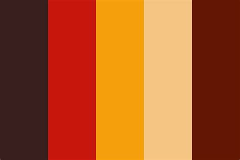 october color palette