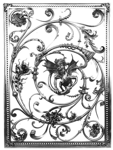 pattern recognition french 20 best decorative ironwork gates images on pinterest