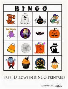 attempting aloha free halloween bingo printable for