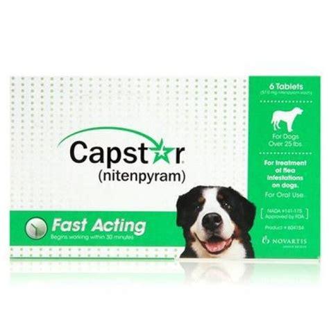 capstar for puppies novartis capstar green for dogs 25 pounds 6pk ebay