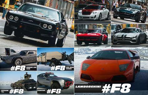 film fast and furious terbaru inilah mobil mobil yang beraksi di film fast 8 oto