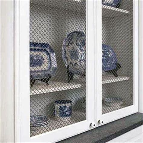 Wire Mesh Inserts For Cabinet Doors by Kitchen Cabinet Types