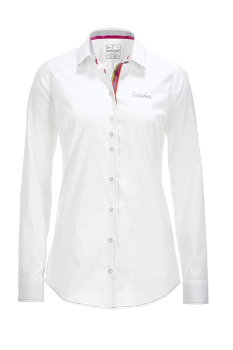 3second 515 White L damen bluse white l l sansibar